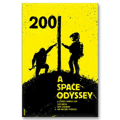 2001 A Space Odyssey Classic Movie Canvas Posters Art Prints 8x12 24x36inch