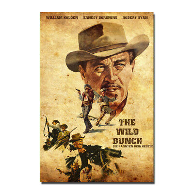 The Wild Bunch Classic Movie Canvas Posters Art Prints 8x12 12x18 inch