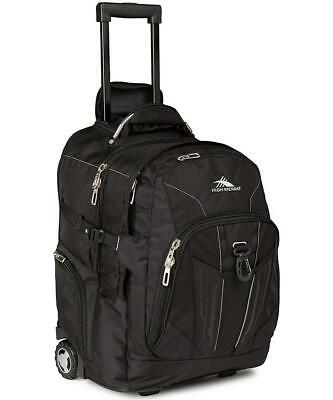 High Sierra XBT Wheeled Backpack Black