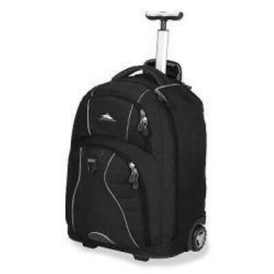 High Sierra Freewheel Wheeled Backpack Black