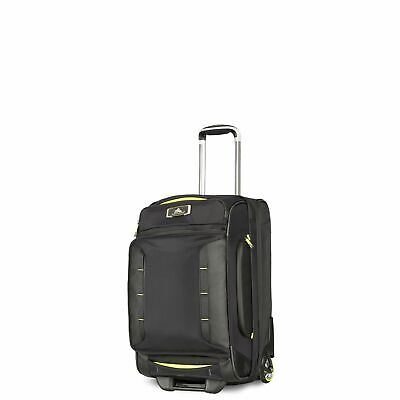 High Sierra AT8 54cm Wheeled Duffel Black/Zest