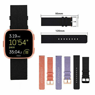 For Fitbit Versa Replacement Strap Wristband Woven Nylon Fabric Watch Band