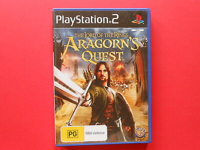 ## The Lord Of The Rings - Aragorn's Quest - Playstation 2 - Sony Ps2 Game