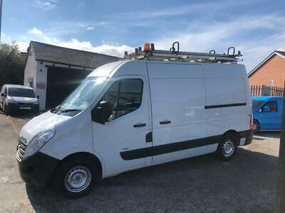 2011 Vauxhall Movano L2H2 2.3 Cdti Van In White - Fully Loaded Workshop - 3.5T
