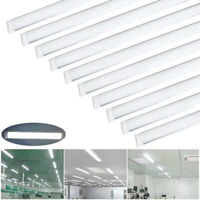 12x 4FT 1200mm Slimline LED Linear Batten Tube Light Ceiling Wall Panel Lamp UK