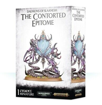 Daemons Of Slaanesh The Contorted Epitome Games Workshop Age of Sigmar Brand New