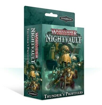 Warhammer Underworlds: Thundrik's Profiteers - English Games Workshop Sigmar New