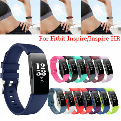 Replacement Silicone Watch Wrist Sports Band Strap For Fitbit Inspire/Inspire HR