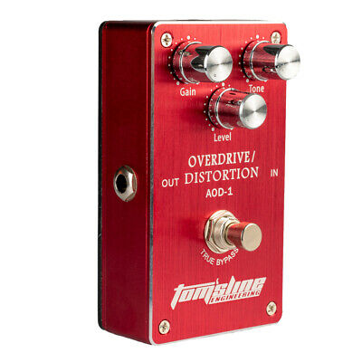 Metal Overdrive Distortion Electric Guitar Effect Pedal True-Bypass