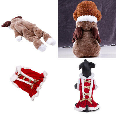 2x Funny Dog Cat Clothes Apparel Cosplay Costume For Small Medium Large Dog
