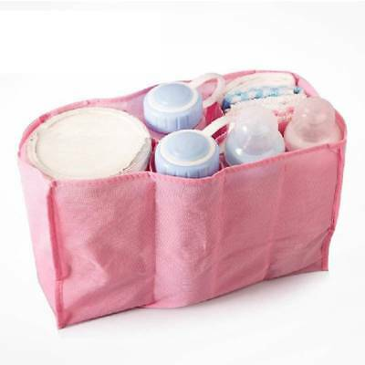 Pouch Bag Diaper Nappy Water Bottle Changing Divider Inner Portable Storage Bag