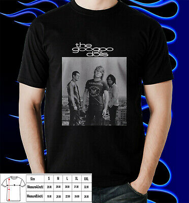 Goo Goo Dolls rock band New T-Shirts Cotton For Mens USA Size