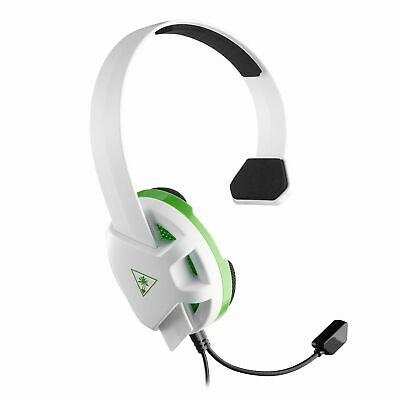 Turtle Beach One Sided Recon Chat Wired Headset White