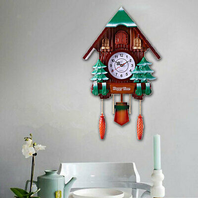 Creative Cuckoo Coo Wall Clock Decorative Clock Christmas Gift