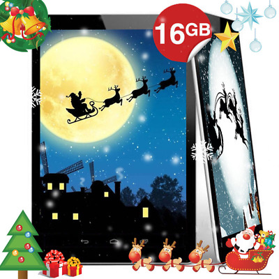 """7"""" Inch Android Tablet PC 16GB Quad Core Dual Camera Bluetooth Wifi Tablet PC UK"""