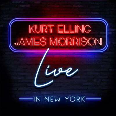 Kurt Elling & James Morrison Live in New York CD NEW