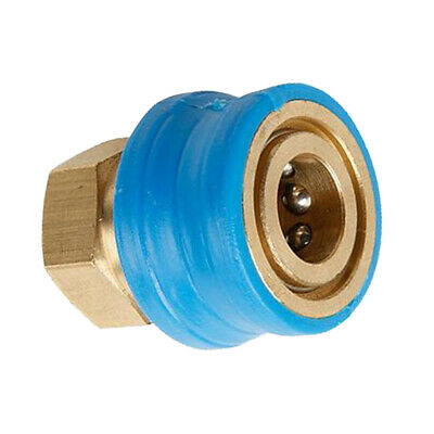 """1/4"""" Female Pressure Washer Brass Quick Connect Coupler Converter Adapter"""