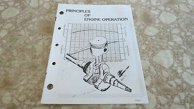 Kohler Engine Service Manual Principles Of Engine Operation Oem