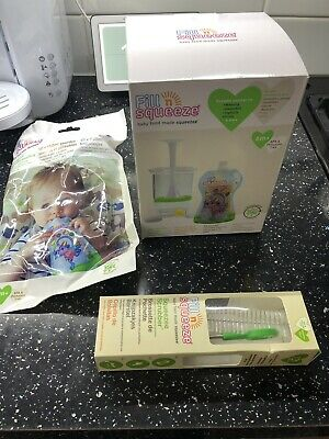 Brand New Fill And Squeeze With Extras