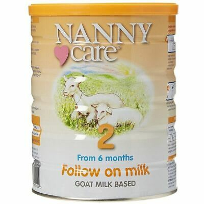 Nanny Care 2 From 6 Months Follow On Milk Goat Milk Based 900g