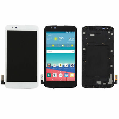 Per LG K7 K330 LS675 MS330 LCD Touch Screen Digitizer Replacement + Frame RHN02