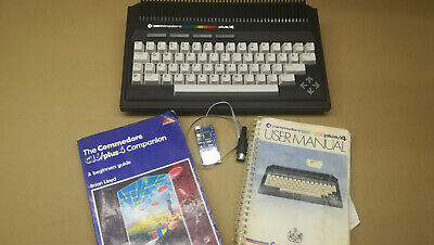 Commodore Plus 4 + External SD2IEC + Book and users manual