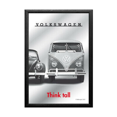 Mirror VW Think tall, 20 x 30 cm