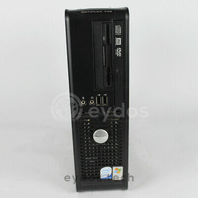 Pc Dell Optiplex 745 - Intel® Core™2 Duo E6300 2Gb Ram 80Gb HDD Win XP Pro