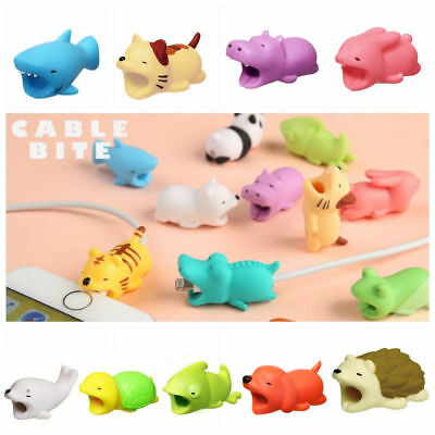 Cartoon Cable Buddy Protector Data Transfer for USB Charging Cables