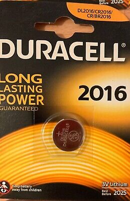 duracell CR2016 3v Lithium Coin Cell battery 2016 DL/BR2016 Longest Expiry