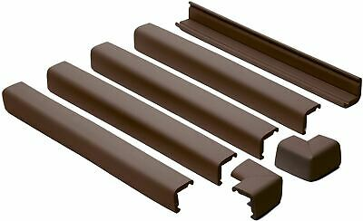 Prince Lionheart Fireplace Guards Chocolate Baby/Child Proofing Safety New