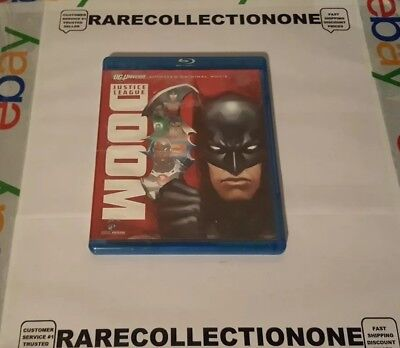 Justice League: Doom blu-ray Disc only