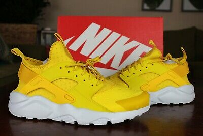 cheap for discount 44fcb 57a5f Nike Air Huarache Run Ultra Mineral Yellow Running Shoes Multi Size 819685  700