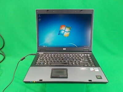 HP Compaq 6710b Intel Core 2 Duo T8100 @ 2.10GHz 160GB HDD 4GB RAM Windows 7 Pro