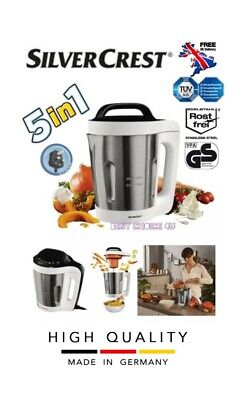SILVERCREST 5 In 1 Cook 'n' Mix Soup Maker