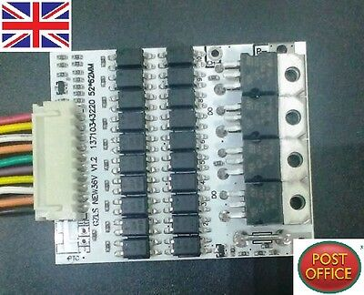 Battery Protection BMS PCB Board for 10 Packs 36V Li-ion Cell max 40A w Balance
