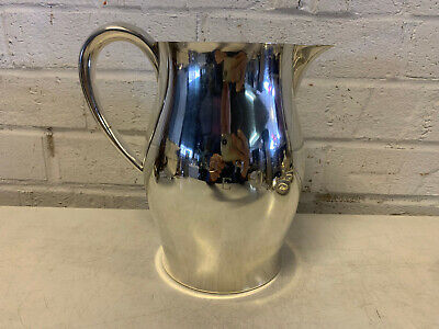 Vtg Tuttle Silversmiths Sterling Silver 210A Paul Revere Reproduction Pitcher