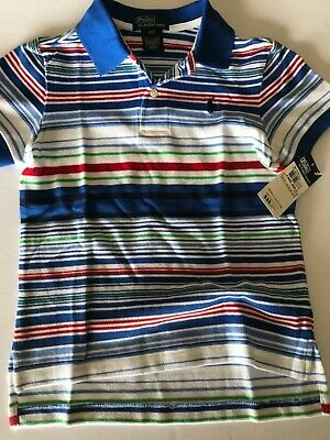 2 2t 2 yrs BOYS POLO SHIRT RALPH LAUREN RETAIL $35.00 NEW WITH TAGS