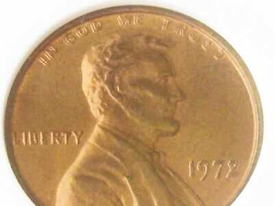1972 DDO (Double Die Obverse) Lincoln Cent in ANACS RED MS64 slab - Looks PQ GEM
