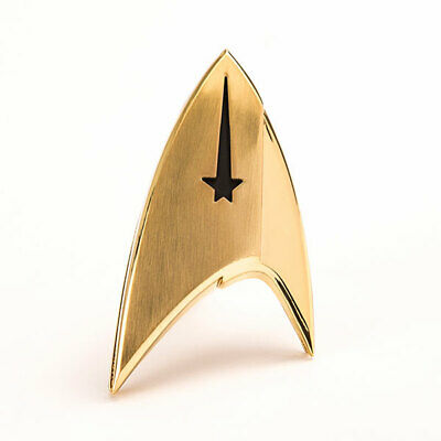 Star Trek Discovery QMX Metal COMMAND Insignia Badge Replica FAST SHIPPING