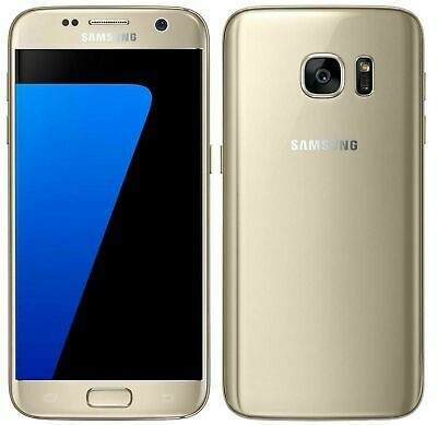 SAMSUNG GALAXY S7 G930F 32GB UNLOCKED MOBILE PHONE SIM FREE 4G LTE Gold