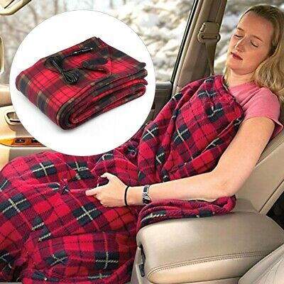Caravan Heated Travel Bed Mat Blanket Camping Electric Heating Winter150*110 cm