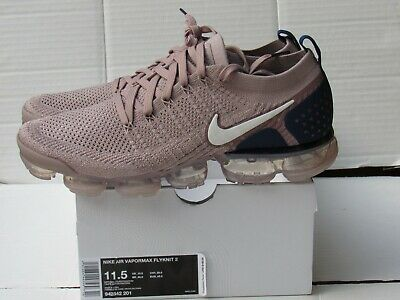 Nike Air Vapormax Flyknit 2 Diffused Taupe Running Shoes (942842 201) Size 11.5