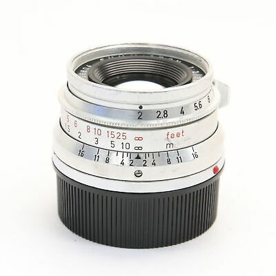 Leica Summicron M35mm F2 (8-element) Made in Germany #101