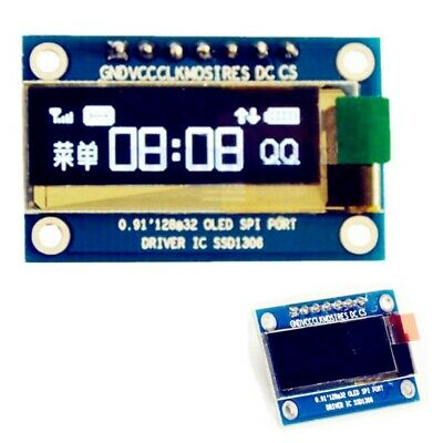 0.91 inch 7Pin SPI Wei? OLED LCD Display DIY Module For Arduino HW