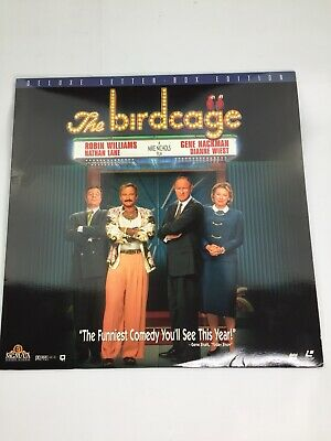 The Birdcage   laserdisc Robin Williams Gene Hackman Nathan Lane