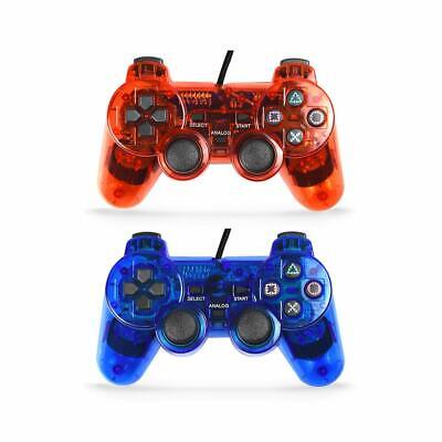 Wired Gaming Controller for Playstation 2 Double Shock Gamepad for Ps2
