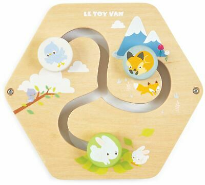 Le Toy Van Petilou BABY HOMES ACTIVITY TILE Wooden Toy BNIP