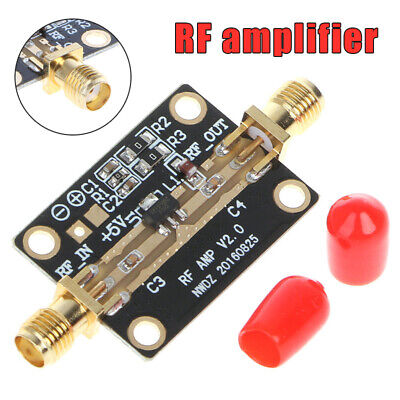 AU Ultra-Low Noise LNA 0.05-4G NF=0.6dB RF Amplifier FM HF VHF/UHF Tool Parts