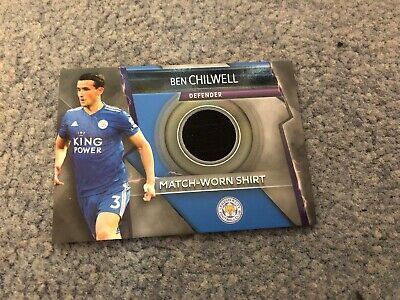 Match Attax Ultimate 2018/19 Ben Chilwell Match-Worn Shirt Mint